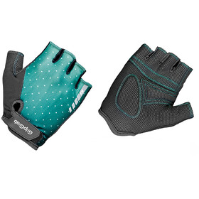 GripGrab Rouleur Guantes cortos acolchados Mujer, green